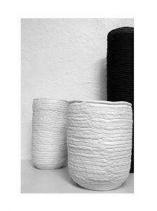 Vases & Plats porcelaine & grès noir