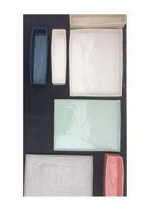 Divers plats & couleurs / variation des couleurs